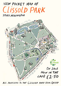 Clissold Park map