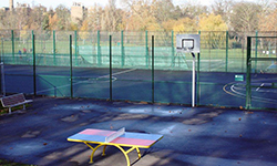 Table tennis, basketball, five-a-side, tennis