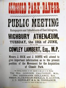 Public meeting poster, 1886 (click to enlarge)