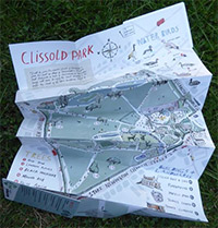 Clissold Park fold out map